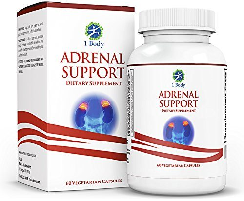 Adrenal Support – Cortisol Manager – A Complex Formula containing Rhodiola Rosea, Vitamin B12, B5, B6, Magnesium, Ginger Root Extract, Ashwagandha, Schizandra Berry, Licorice & More – Vegetarian
