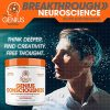 Genius Consciousness – Super Nootropic Brain Booster Supplement – Enhance Focus, Boost Concentration & Improve Memory | Mind Enhancement with Alpha GPC & Lions Mane Mushroom for Neuro Energy & IQ