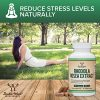 Rhodiola Rosea Supplement 500mg, 120 Vegan Capsules (Made and Tested in The USA, 3% Salidrosides, 1% Rosavins Extract) Natural Stress Level Support Pills by Double Wood Supplements