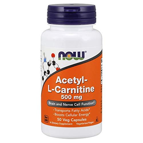 Now Supplements, Acetyl-L Carnitine 500 mg, Amino Acid