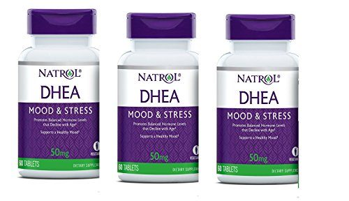 Natrol DHEA 50mg, 60 Tablets