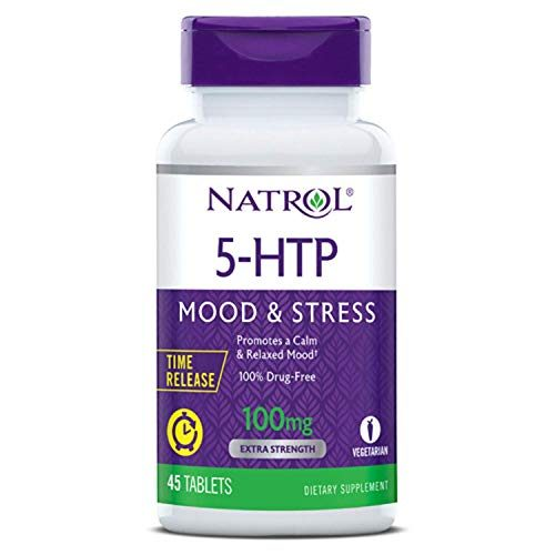 5-Htp 100Mg Time Release by Natrol – 45 Tab, 2 Pack