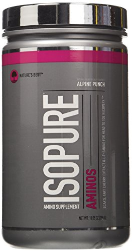 Isopure Amino Supplement, with BCAAs, Essential Amino Acids and L-Theanine