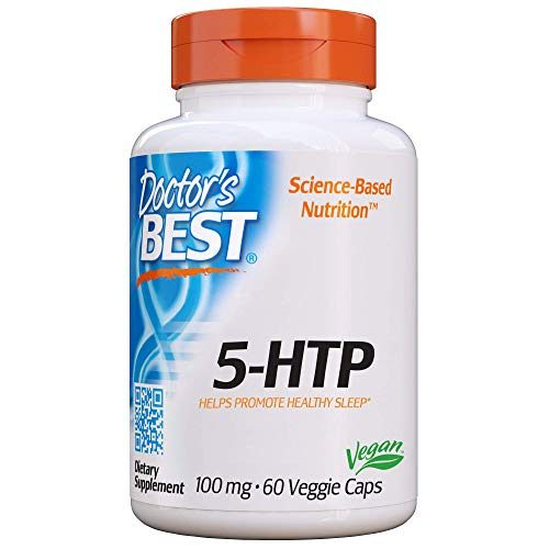 Doctor's Best Best 5-HTP, 100 mg Vegetarian Capsules